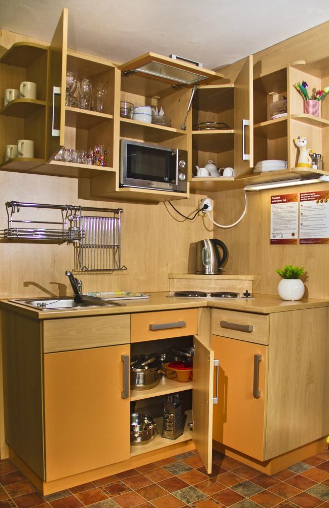 kuchyňka apartmánu