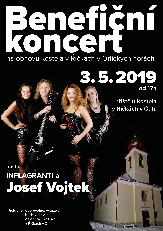 Benefiční koncert Říčky v Orlických horách