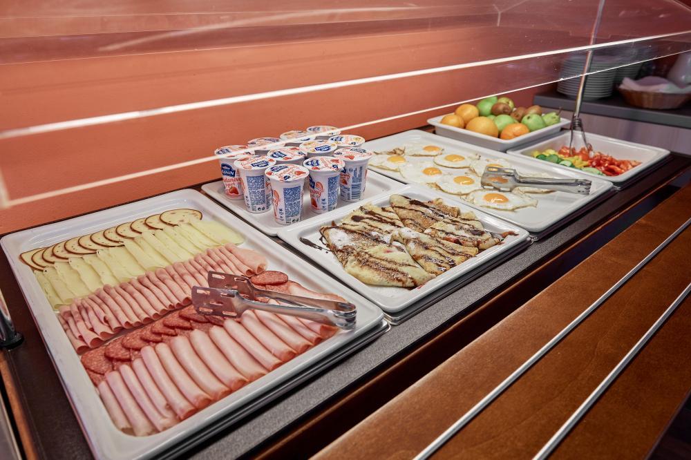 Snídaně - Wellness hotel Říčky