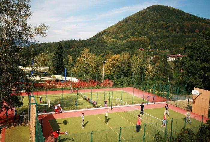 Sportovní hřiště u penzionu Sluníčko