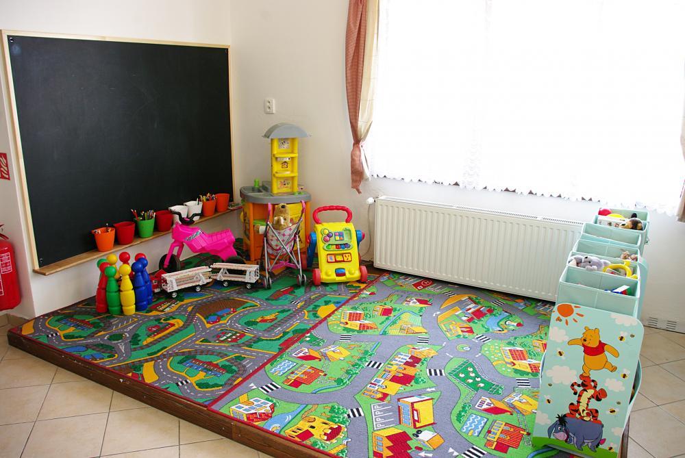 Společenská místnost - dětský koutek