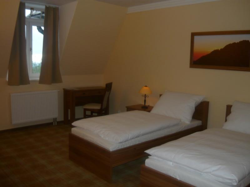 izba s oddelenými posteľami