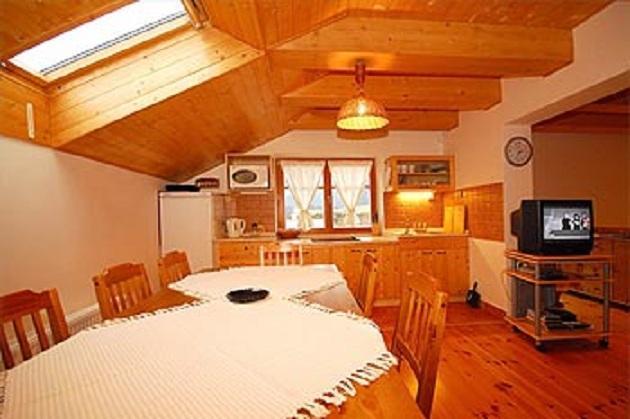 Společenská místnosť pro 2 trojlůžkové pokoje