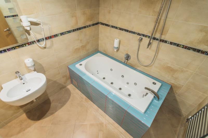 kúpeľňa - Apartmán Queen