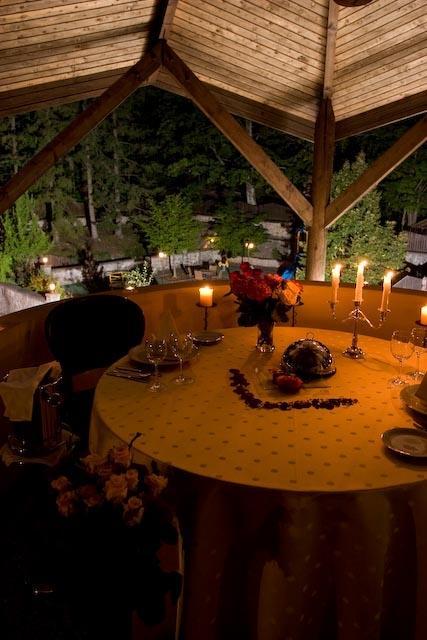 Romantická večera v rotunde