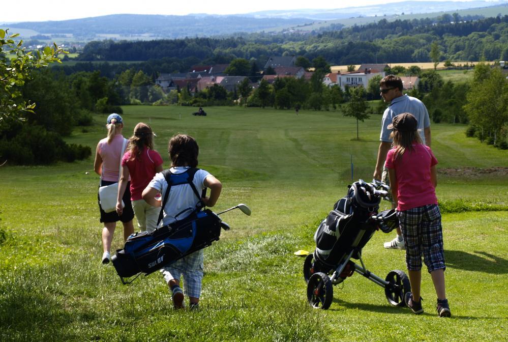 Golf je pro rodinu jako stvořený
