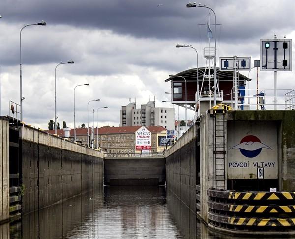 Lock Prague Podbaba