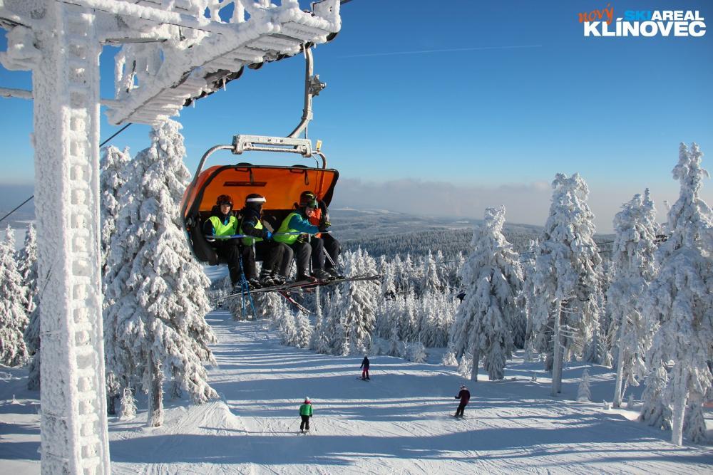 Moderní skiareály