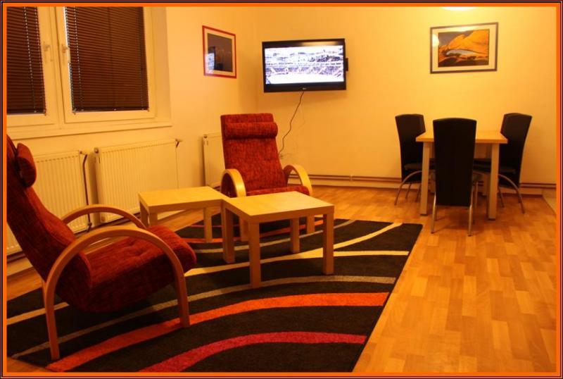 Apartmán obývací pokoj / jídelna