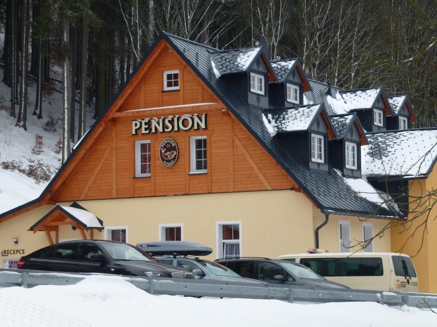 Pension Pstruží - zima