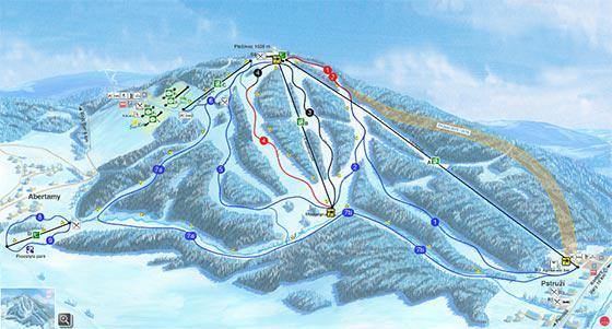 Skiareal Plesivec
