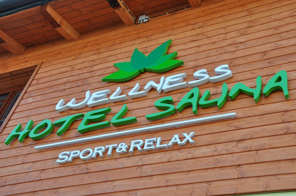 Hotel Sauna a okolí