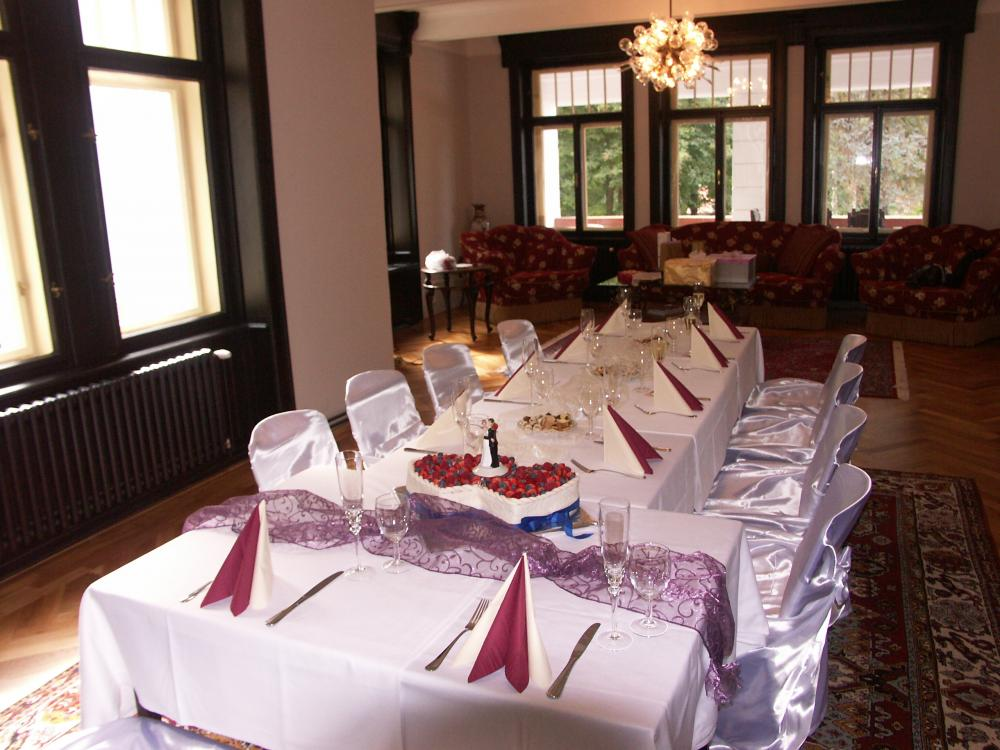 svatba ve vile