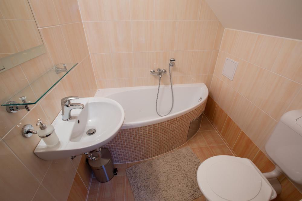 Koupelna na pokoji č.1