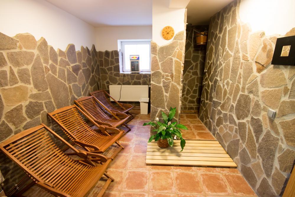 Sauna - odpočívárna