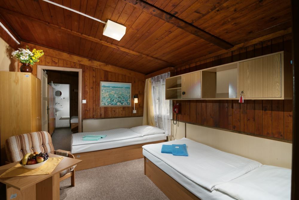 pokoj v chatě