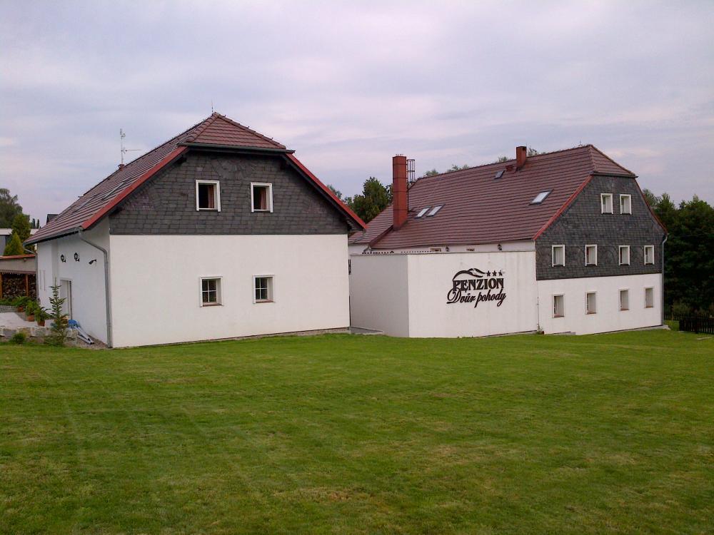 pohled na obě budovy