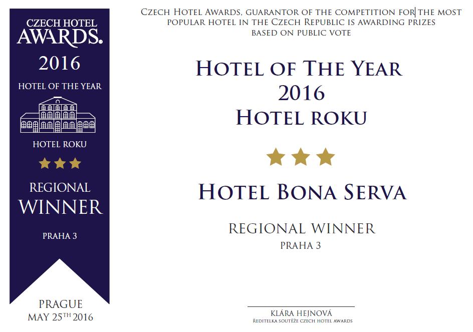 Czech Hotel Awards Praha 3