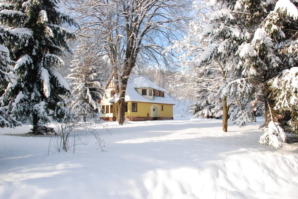 zimní dům a zahrada