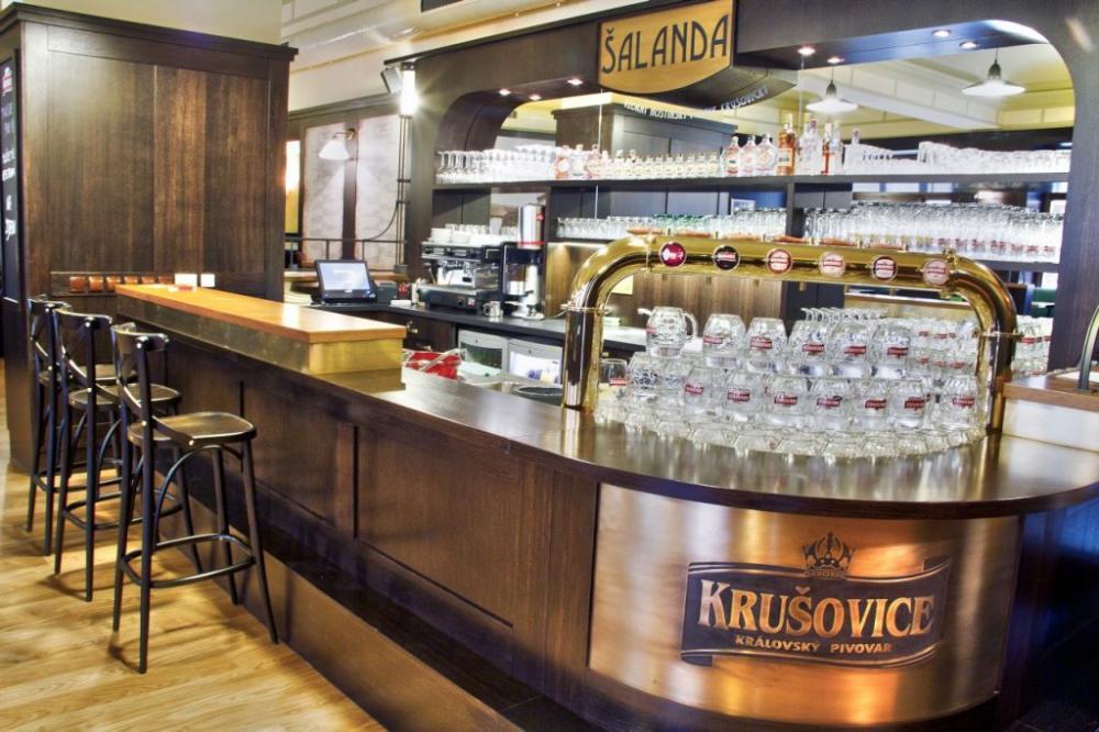 restaurace Šalanda v hotelu Union