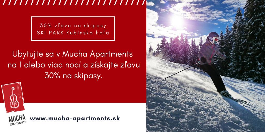 Mucha Apartments - ubytování Terchová