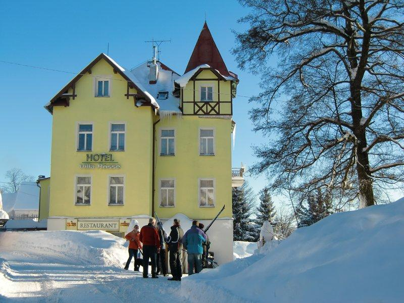 zimní foto hotelu