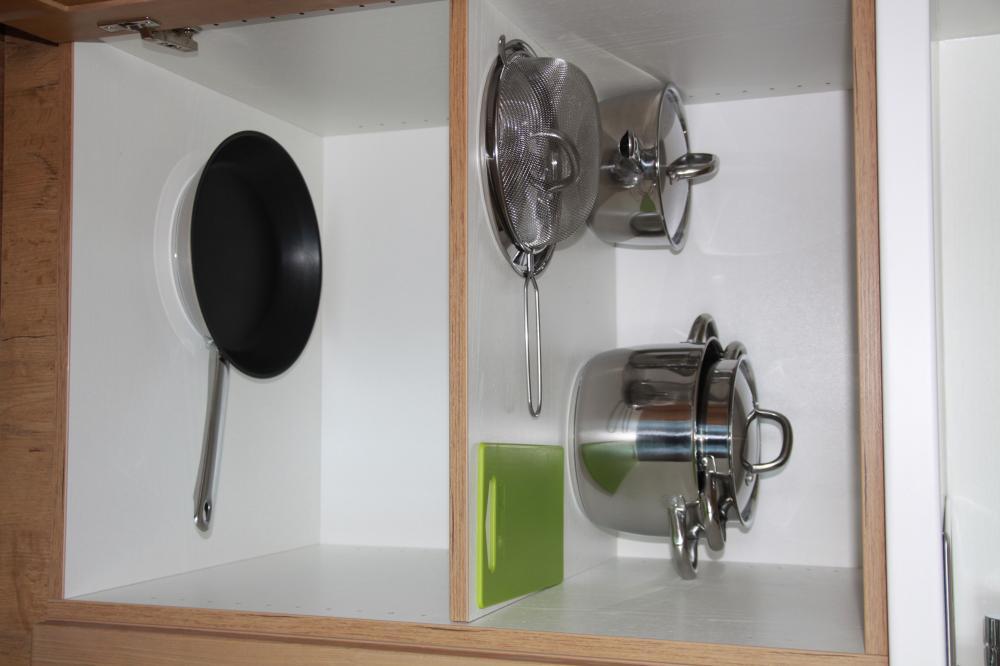 Detail vybvení kuchyňky