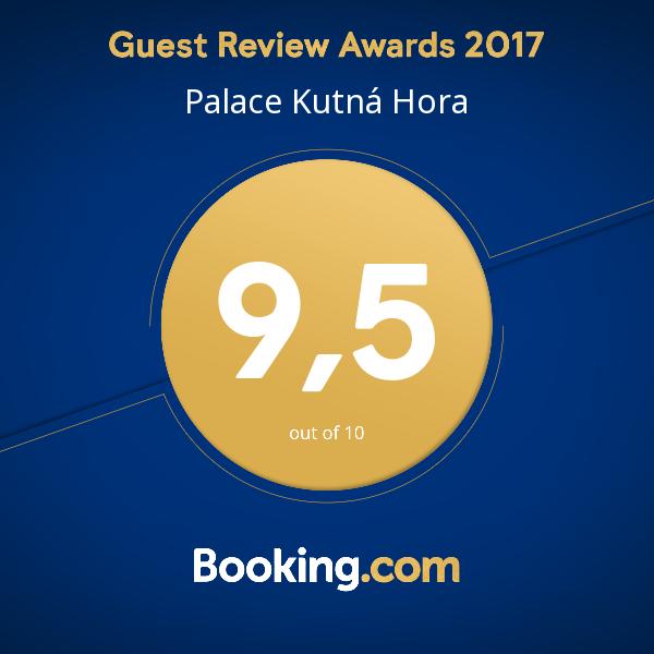 Získali jsme hodnocení 9,5 za rok 2017.  Děkujeme všem našim spokojeným hostům a velice si tohoto hodnocení vážíme.