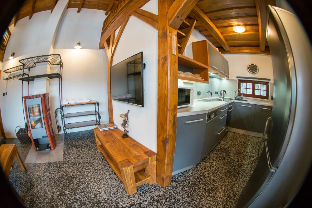 Obývák + kuchyň
