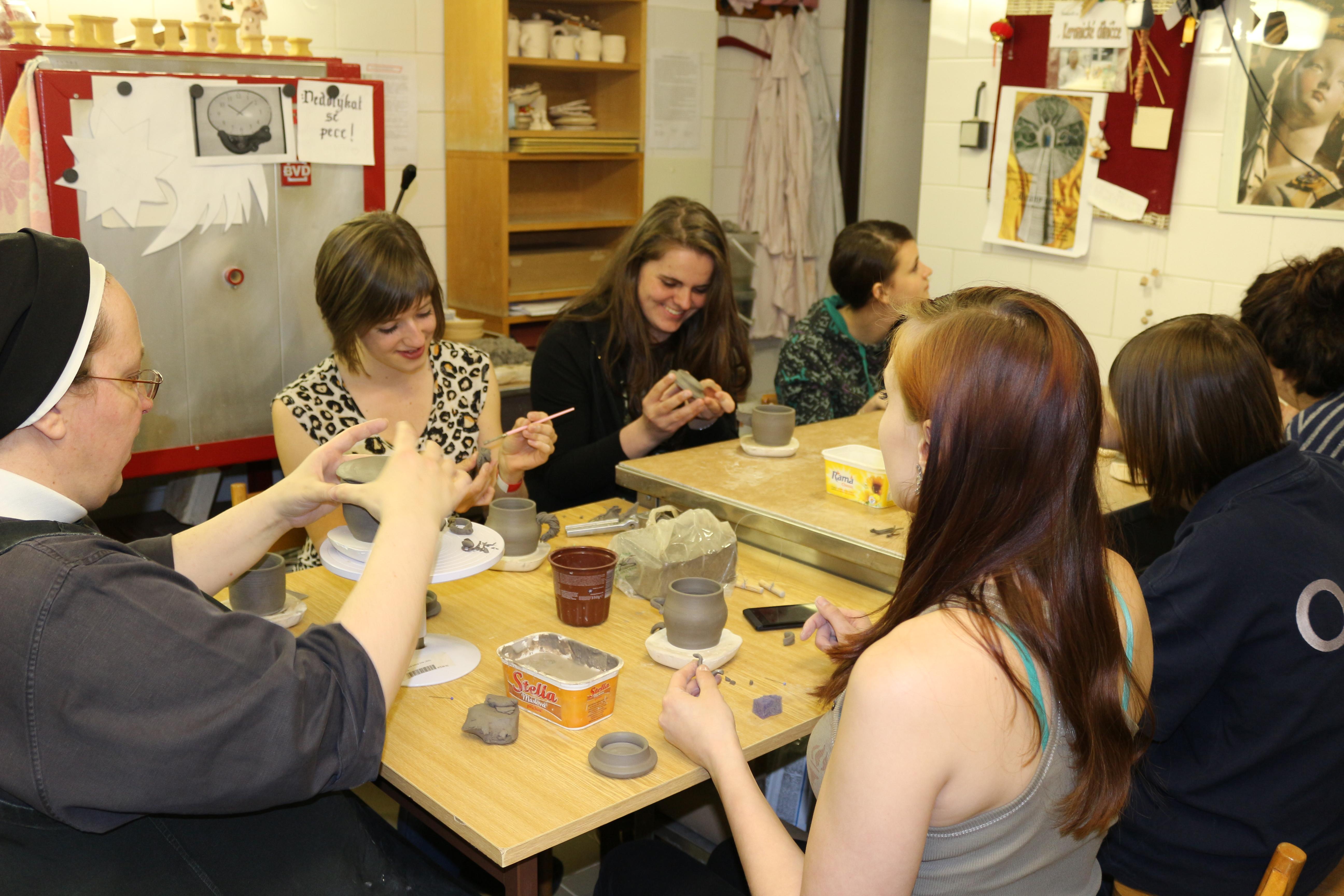 Keramika v dílně