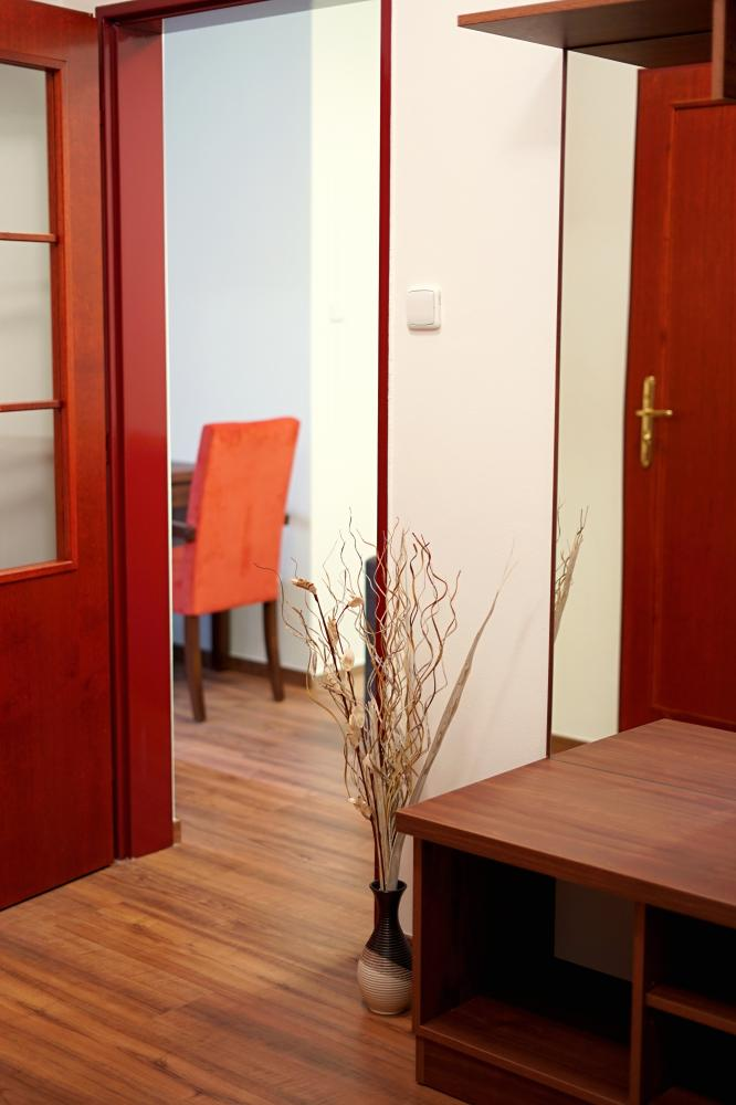 Vchod apartmán