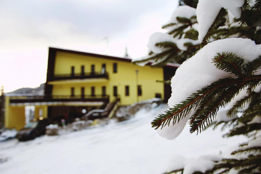 Horský hotel Babská - zimní období