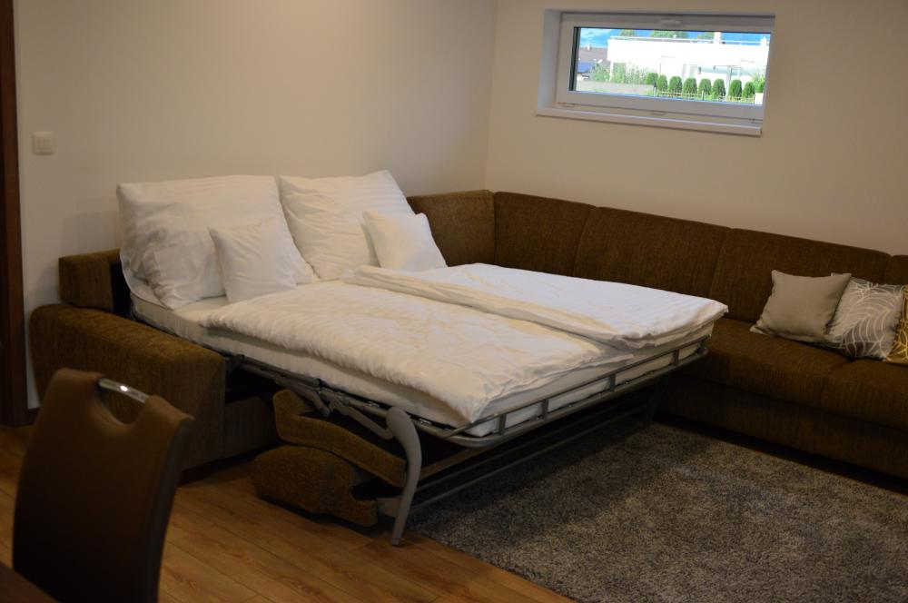 Apartmán B1-4 obývačka
