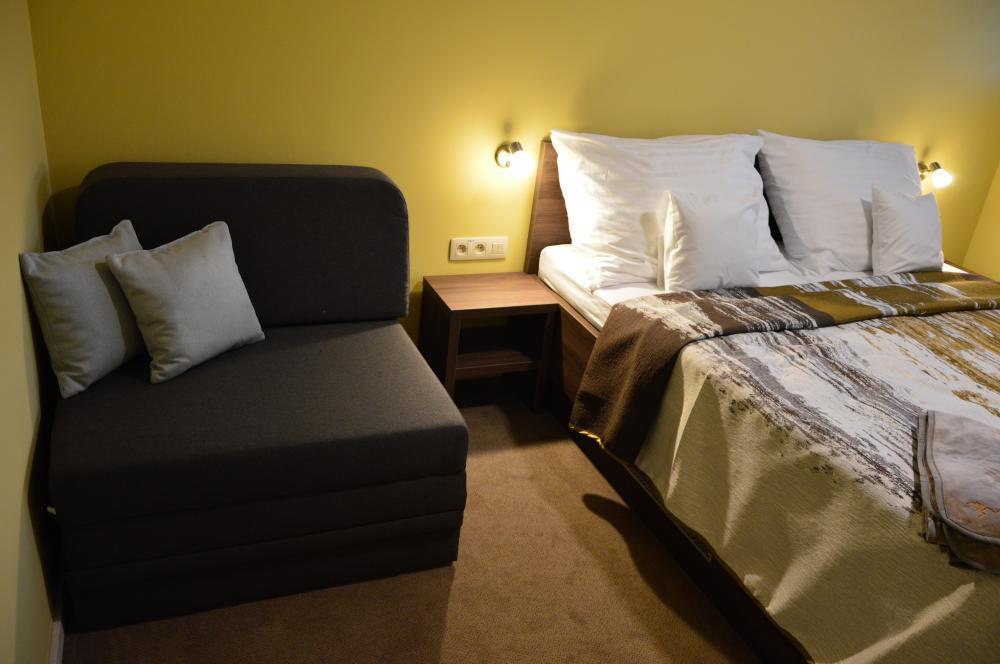 Apartmán B2-4 spálňa