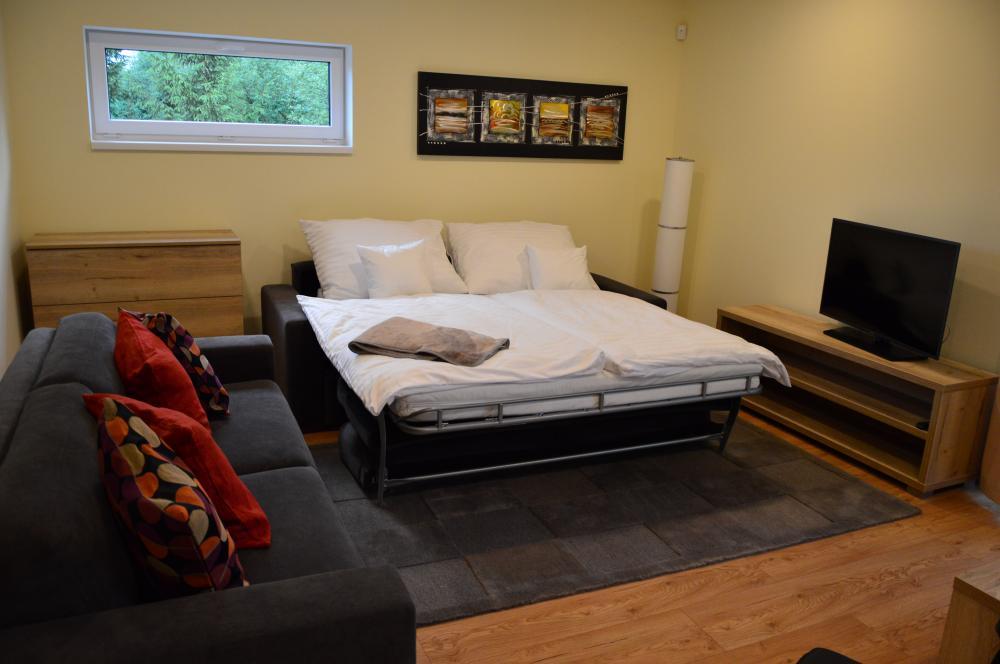 Apartmán B2-4 obývačka