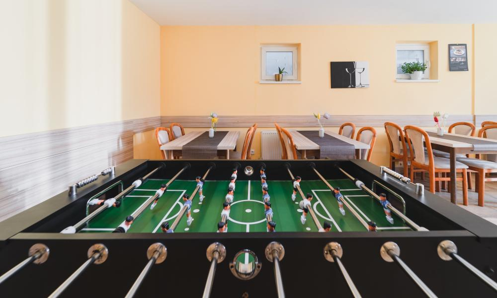Dom - stolný futbal