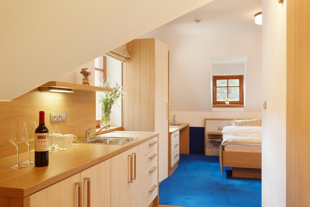 kuchyňka v apartmá 7
