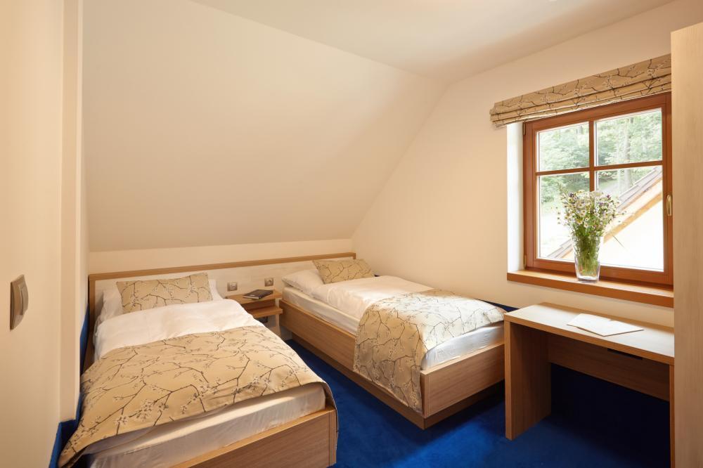apartmán 4 - druhá ložnice