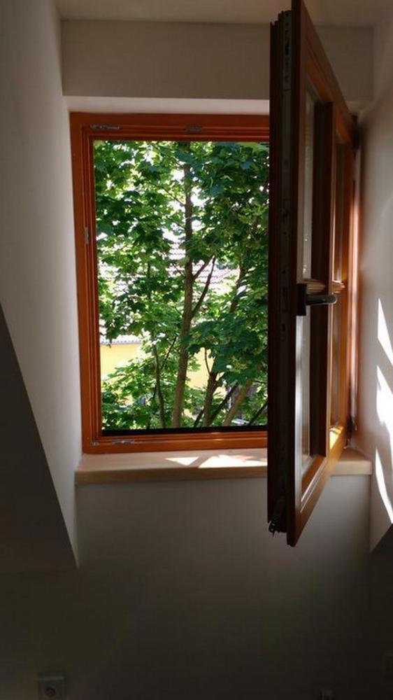 Výhled z ložnice