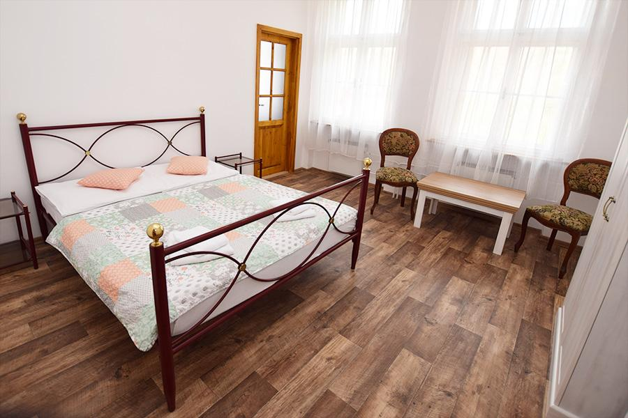 Házmburk - dvoulůžkový pokoj