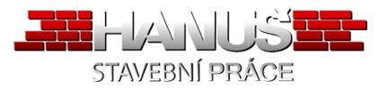 Hanuš stavební práce logo