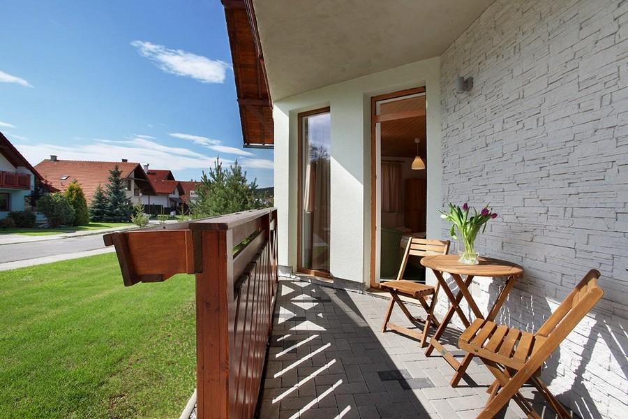 Trojlôžková izba s terasou