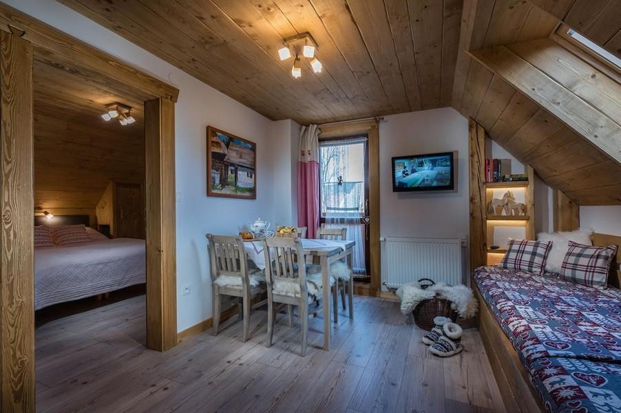Dvojizbový rodinný apartmán Tatra roc s balkónom