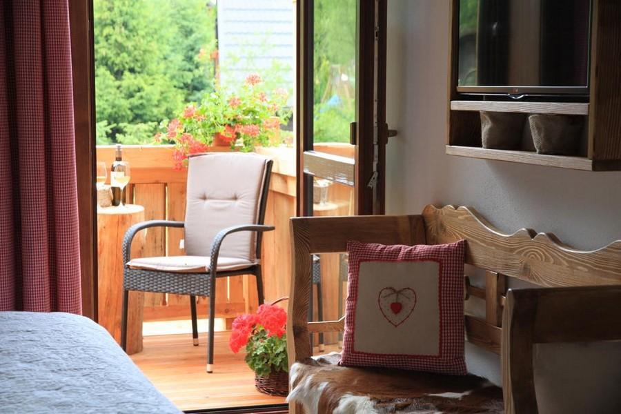 Vidiecka rodinná izba LUX vlastnou terasou