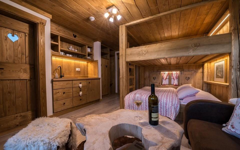 Vidiecky apartmán LUX s vlastnou terasou