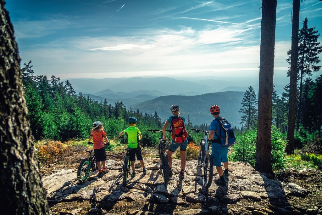 trail park klinovec