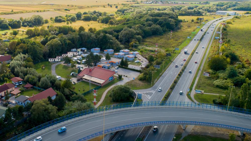 Route E58 - Camp Košice