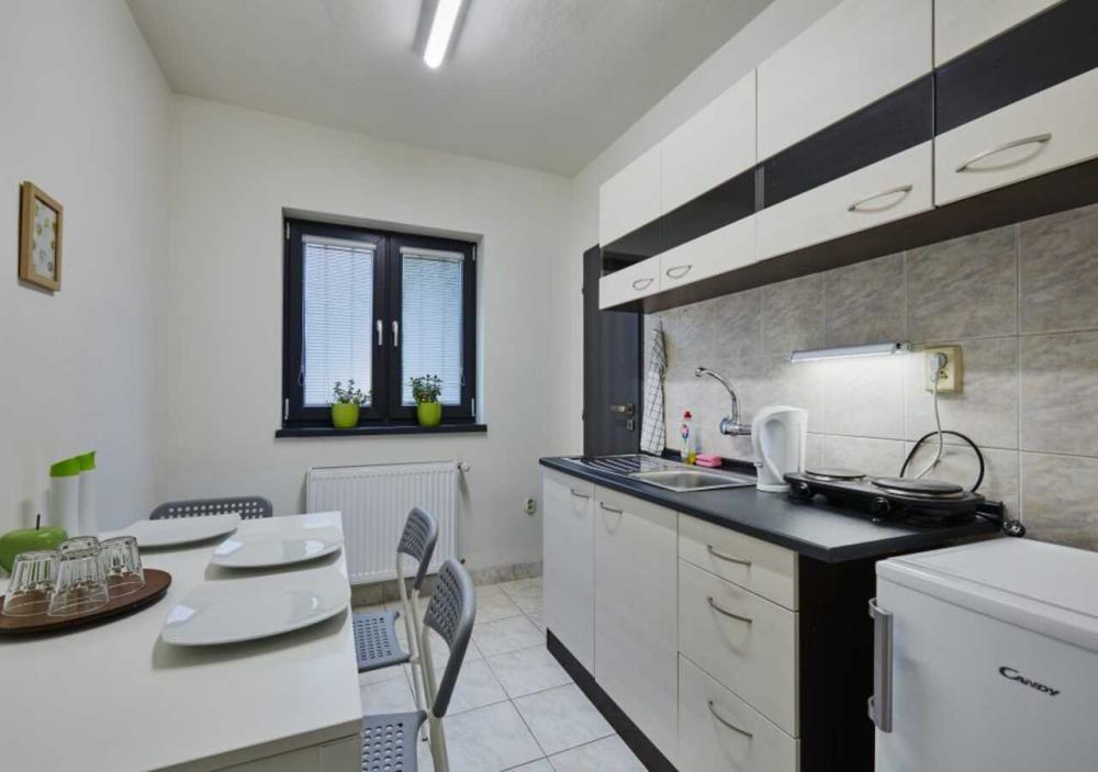 Apartmán kuchynka