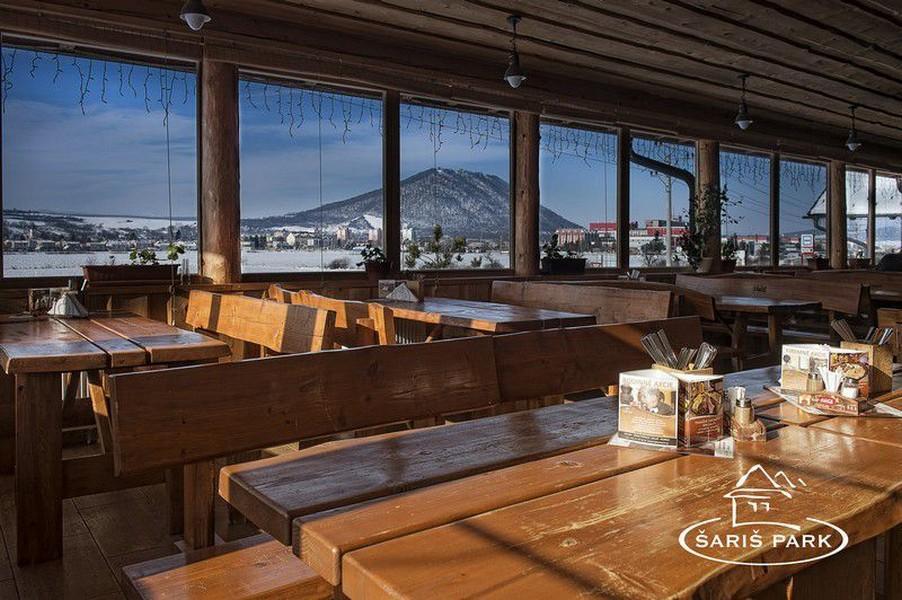 Reštauračné priestory - terasa