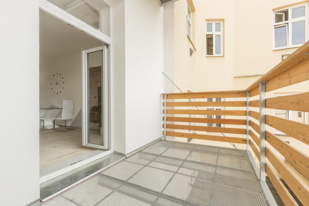 Apartmán Hálkova s balkonem